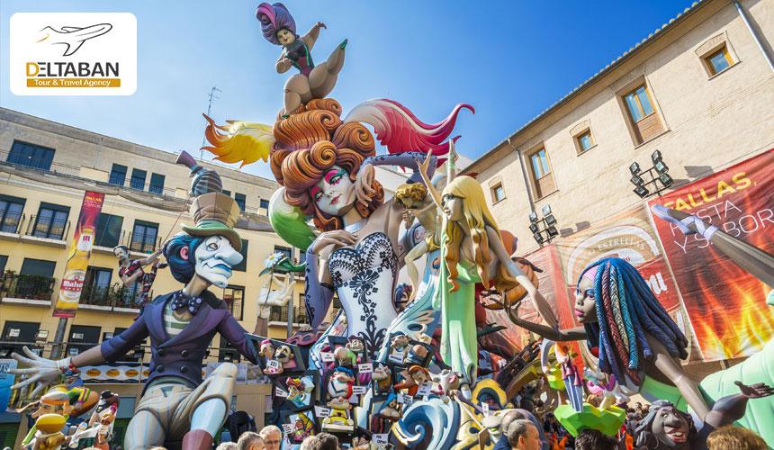 جشن فالز از جذابترین جشن های اسپانیا