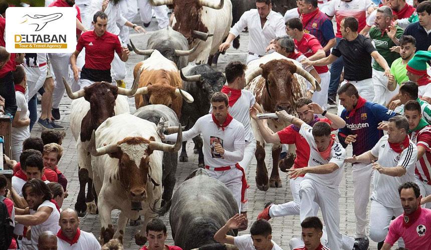 جشن سن فرمین از جذابترین جشن های اسپانیا