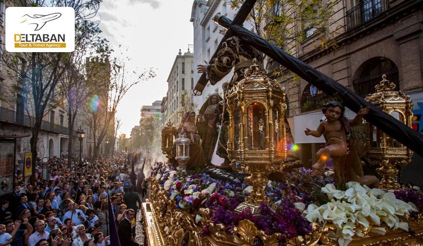 فستیوال هفته مقدس از جذابترین جشن های اسپانیا