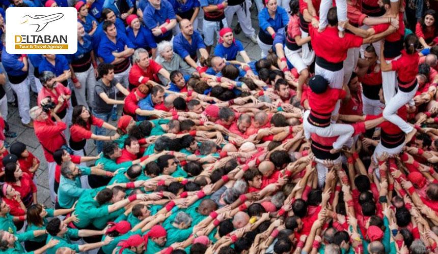 جشن های جذاب اسپانیا