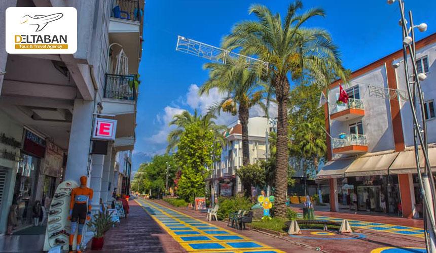 خیابان آتاتورک از بهترین مراکز خرید آنتالیا