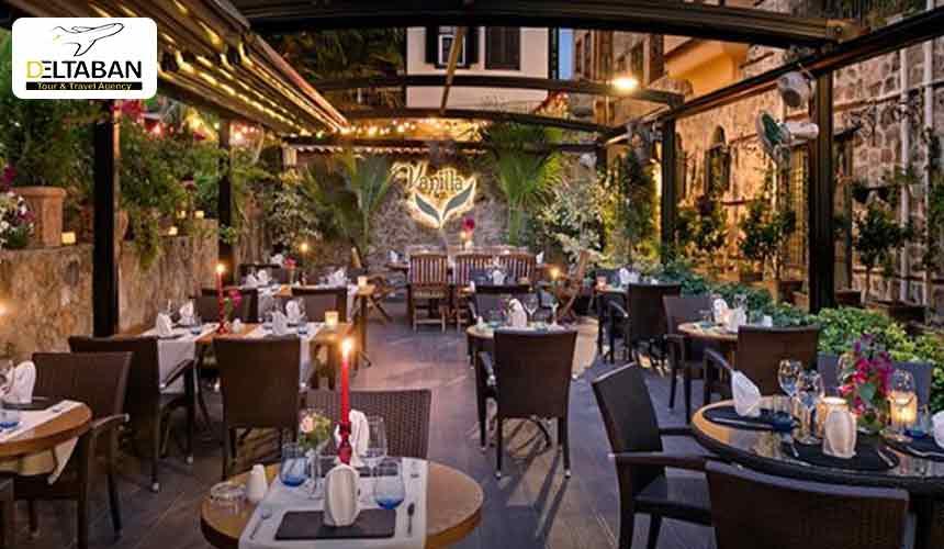 رستوران وانیلا لانژ Vanilla Lounge از بهترین رستورانهای آنتالیا