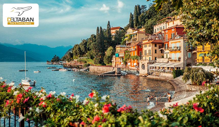 نمایی از کومو ایتالیا