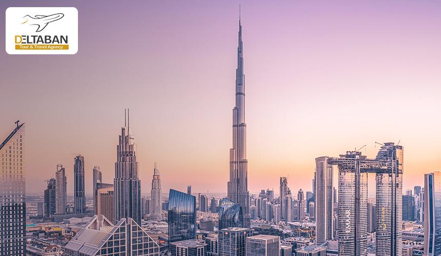 نمایی از شهر زیبای دبی
