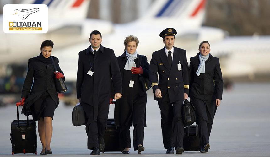 ایرفرانس یکی از خوشتیپ ترین مهمانداران هواپیما
