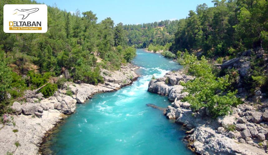 نمایی از پارک ملی آنتالیا