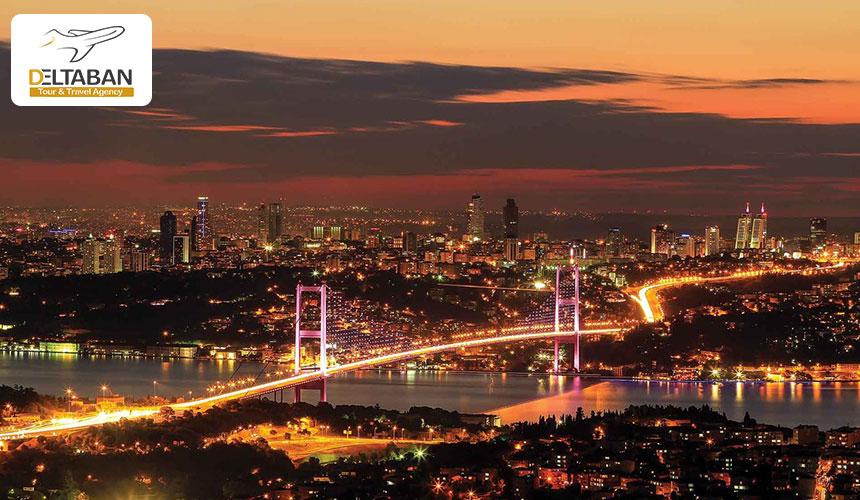 تنگه بسفر در محله ی ببک استانبول