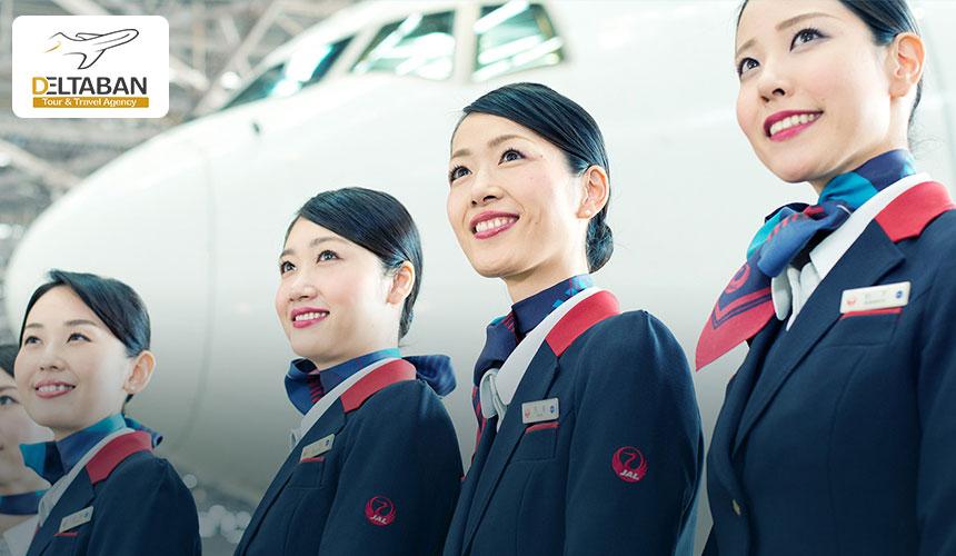 هواپیمایی ژاپن با خوشتیپ ترین مهمانداران