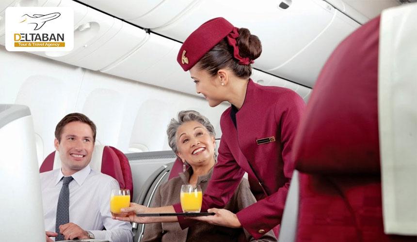 ابتلا به کرونا در هواپیما