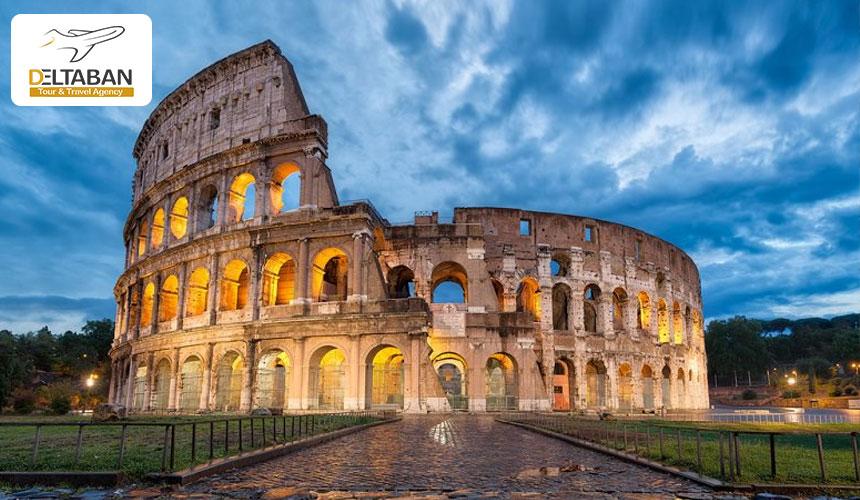 سفر به رم و بازدید از اماکن تاریخی