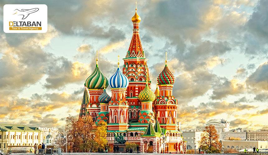 جاذبه های مسکو