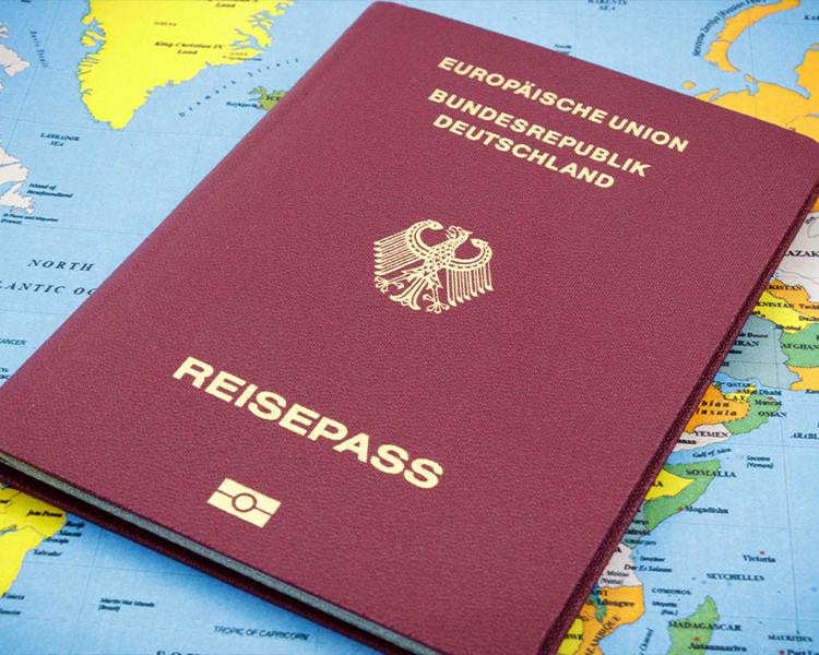 روش های اخذ پاسپورت آلمان