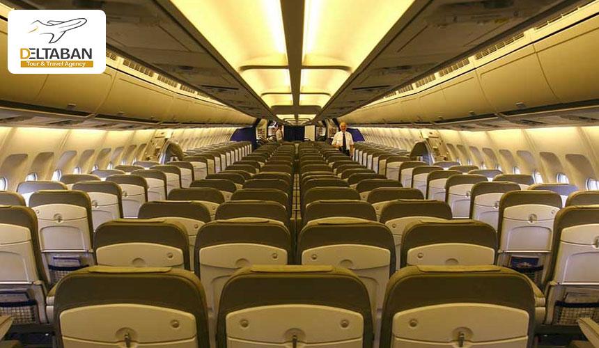 تصویری از داخل ایرباس ای 300 از بهترین هواپیماهای مسافربری