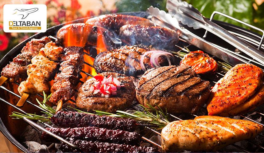 غذاها در سفر به ژوهاسبورگ
