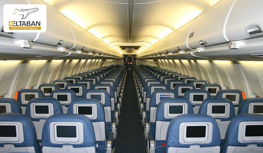 تصویری از داخل  بوئینگ 737