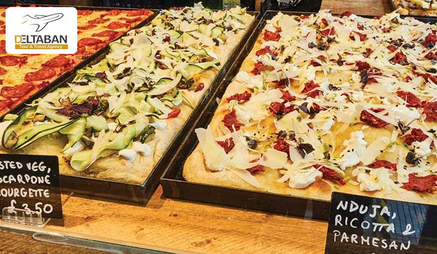 غذاهای ایتالیایی در سفر به رم