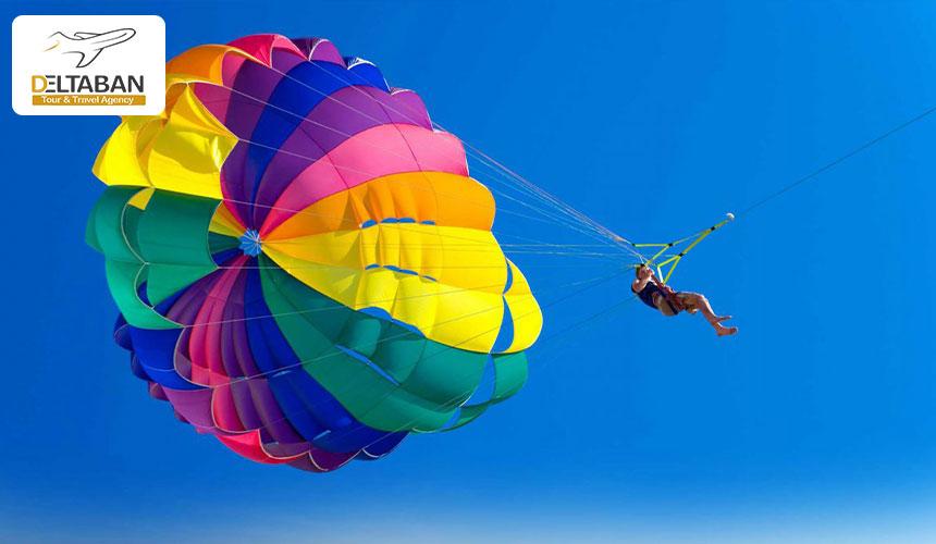 بالن سواری از جذابترین تفریحات کیش