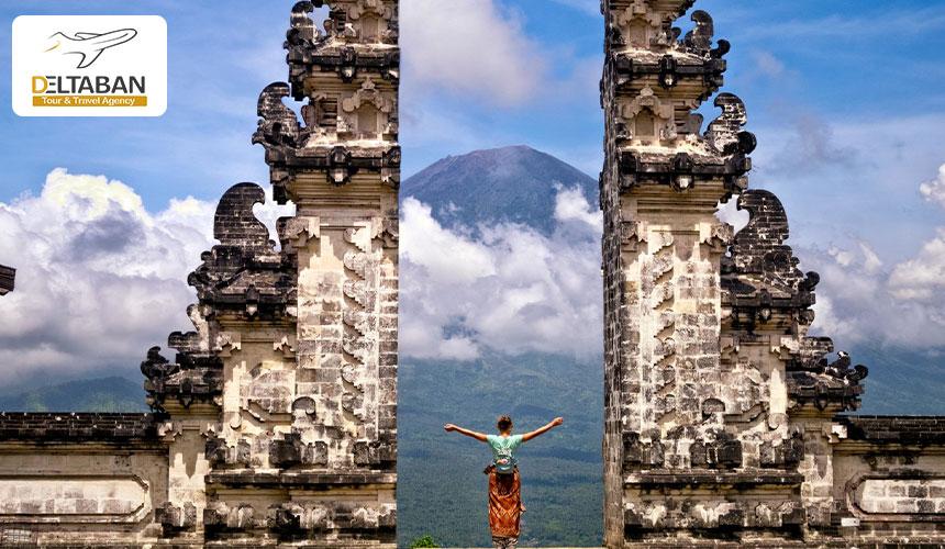 معابد از جاذبه های گردشگری بالی
