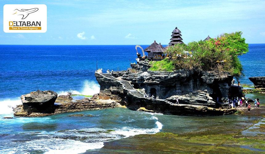 معبد Tanah Lot از جاذبه های گردشگری در بالی