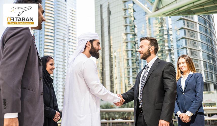 اقامت دبی از طریق کار