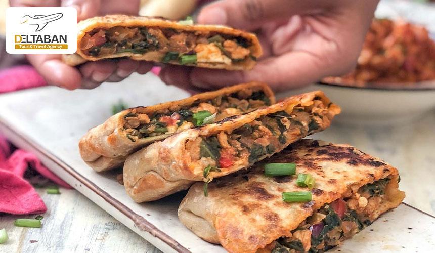 گزلمه از لذیذترین غذاهای خیابانی در استانبول