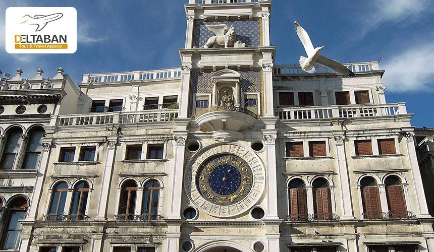 سفر به ونیز و بازدید از برج ساعت