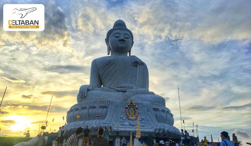 مجسمه بودا بزرگ از جاذبه های پوکت