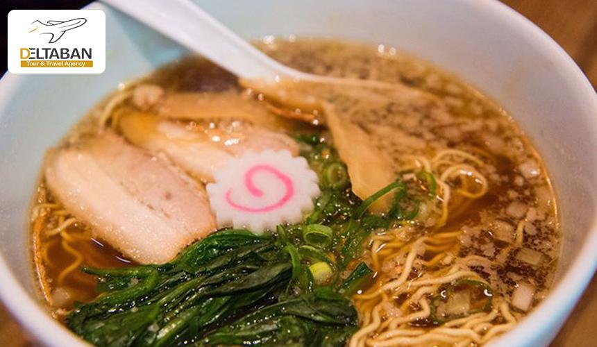 تصویر یکی از غذاهای محبوب در اوساکا