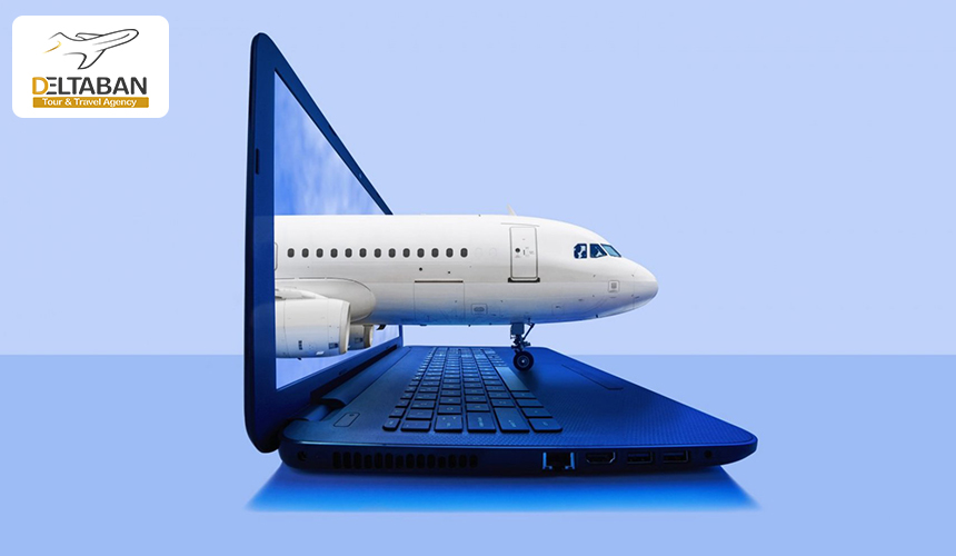 تصویری از خرید بلیط هواپیما چارتر به صورت اینترنتی