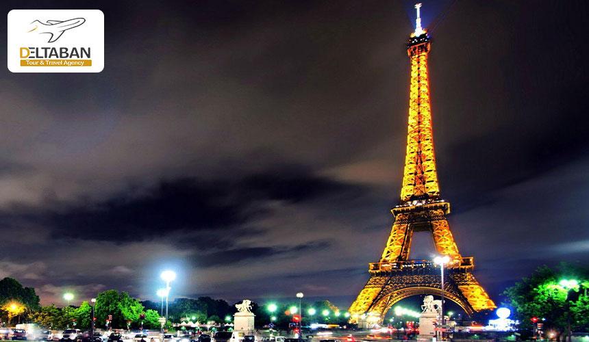 برج ایفل از جاذبه های پاریس