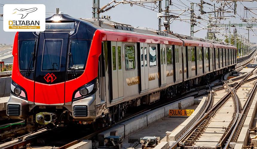 تصویری از مترو