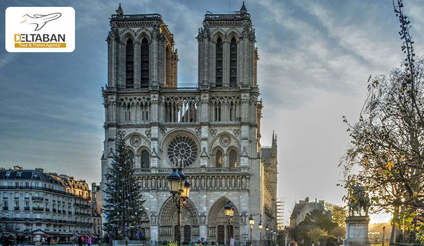 کلیساها از جاذبه های پاریس