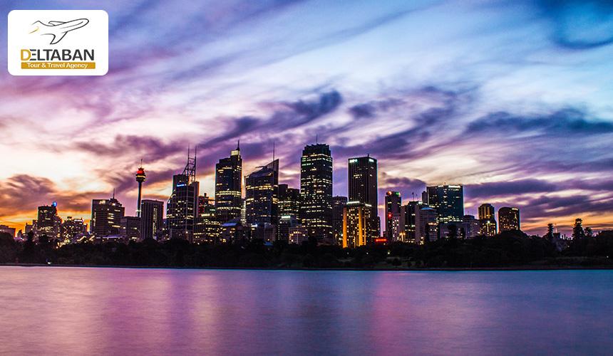 نمایی از شهر زیبای سیدنی