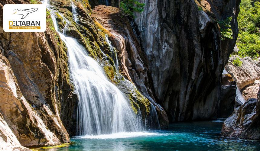 آبشار سیسلی از زیباترین آبشارهای ترکیه