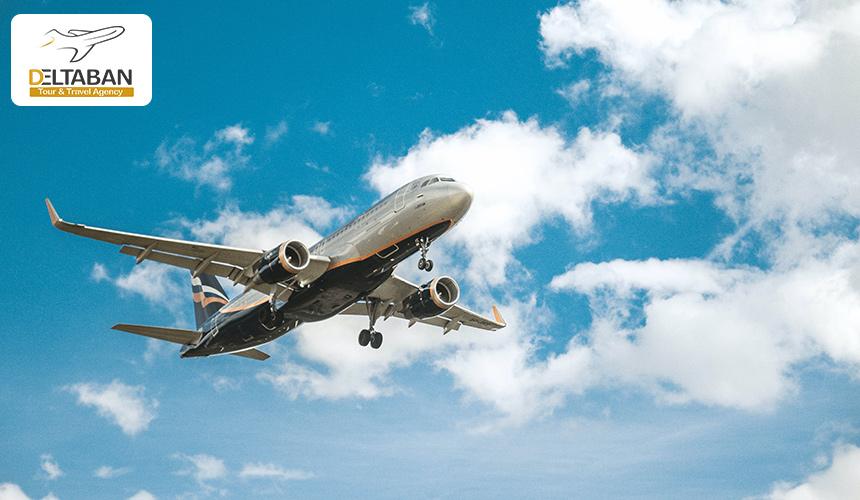 تصویری از بوئینگ در حال پرواز