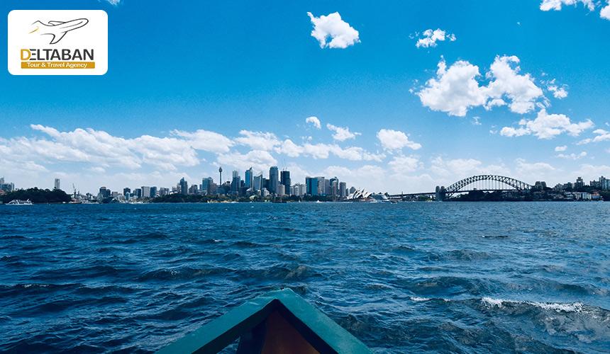 نمایی از شهر سیدنی