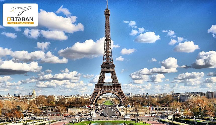 نمایی از برج ایفل از جذابترین دیدنی های پاریس