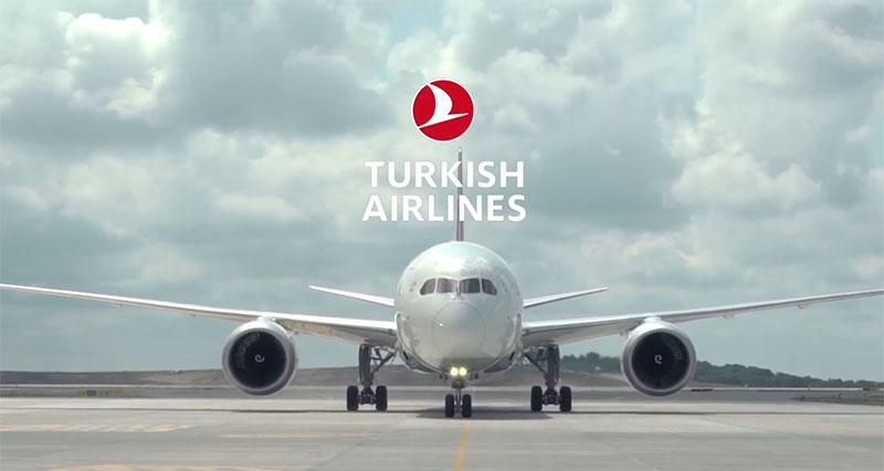 نمایی از پرواز ترکیش