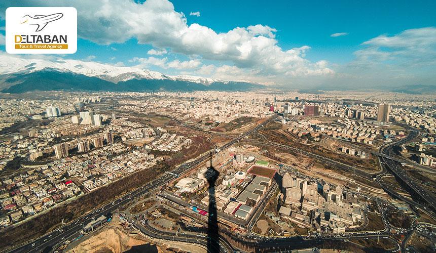 نمایی زیبا از تهران