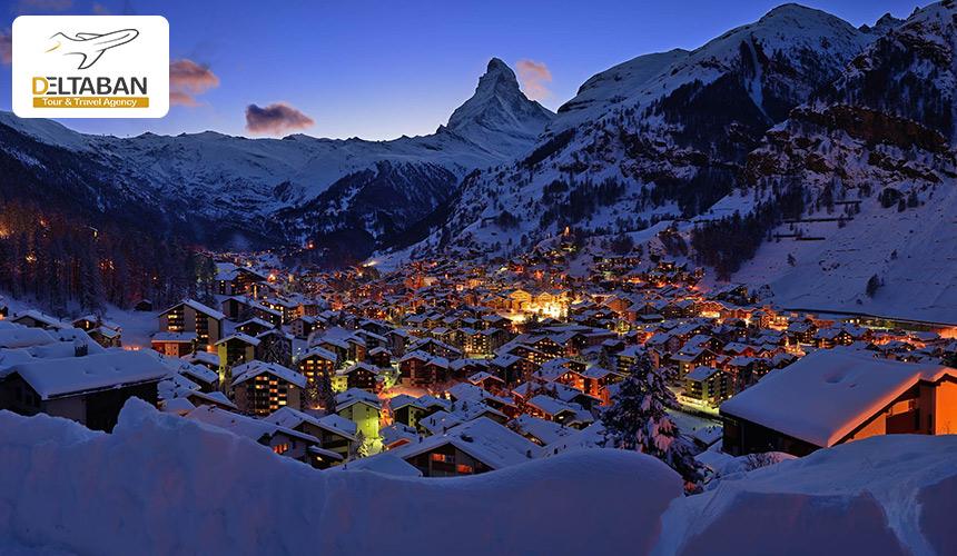 تصویری از زرمات سوییس از شهرهای بدون ماشین