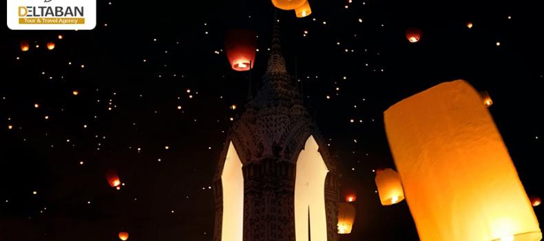 نمایی از یکی از فستیوال های تایلند