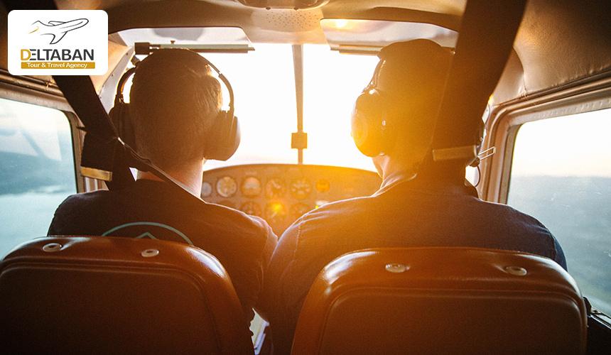 تصویری از کابین خلبان