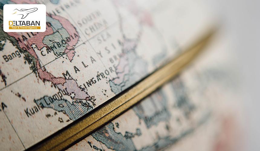 تصویری از نقشه جهان