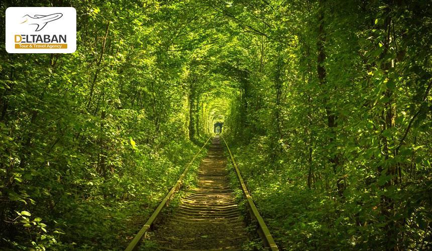 نمایی از تونل عشق اکراین
