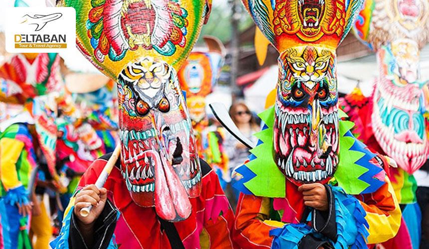 یکی از جذابترین فستیوال های تایلند
