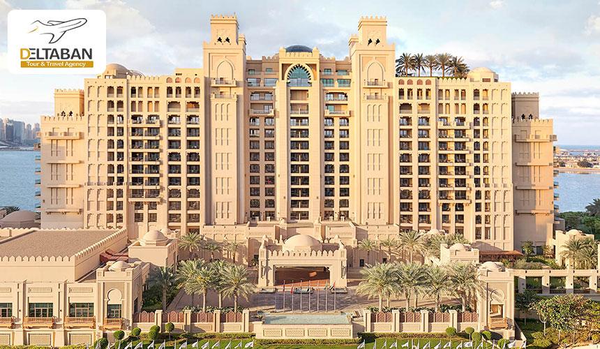 نمایی زیبا از هتل فیرمونت دبی