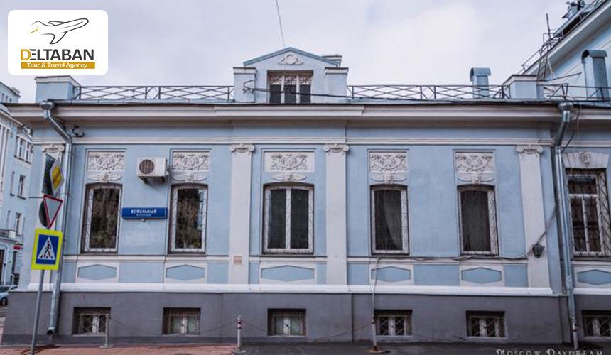 نمایی از سفارت تونس در مسکو