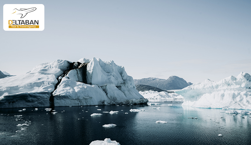 نمایی از قطب جنوب