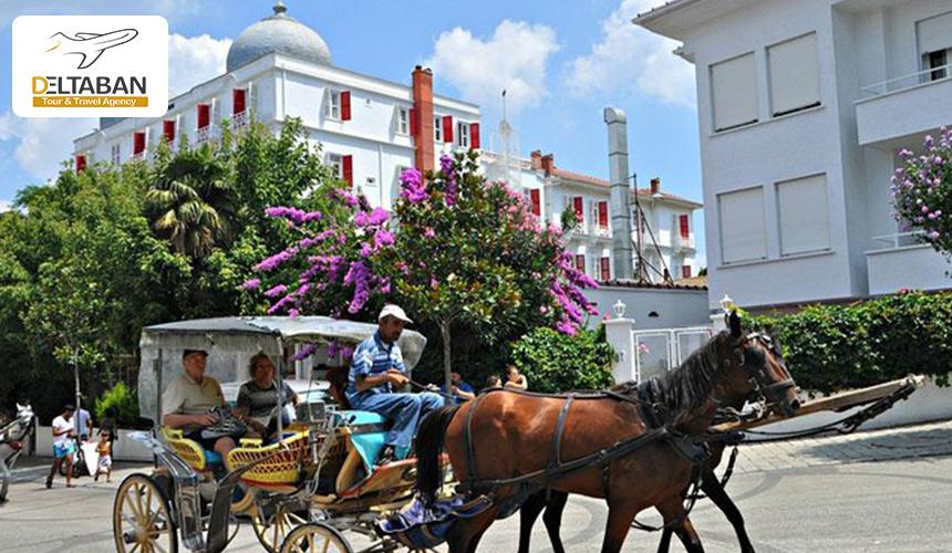 جزایر پرنس از محبوب ترین جاذبه های رمانتیک استانبول