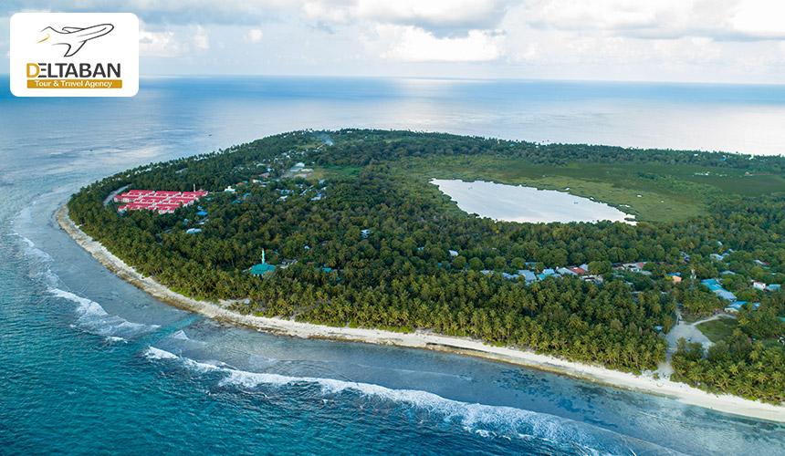نمایی از جزیره مالدیو
